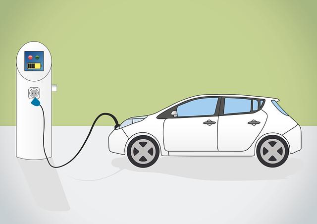 oplaadbare elektrische auto